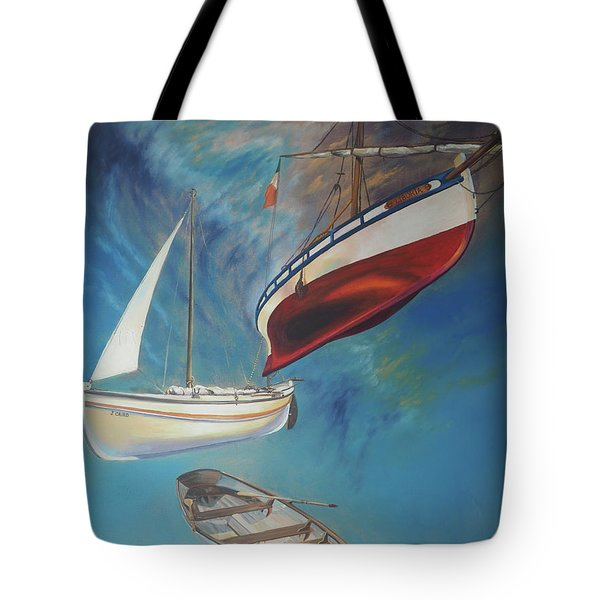 Flying Boats Tote Bag