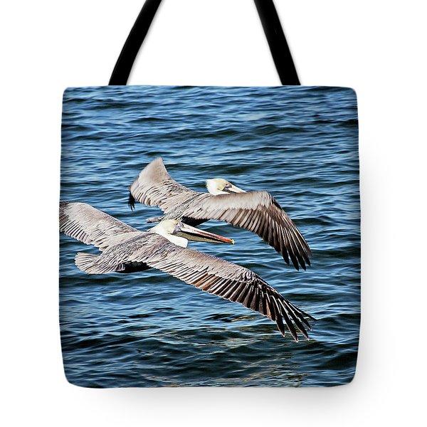 Flying Buddies Tote Bag