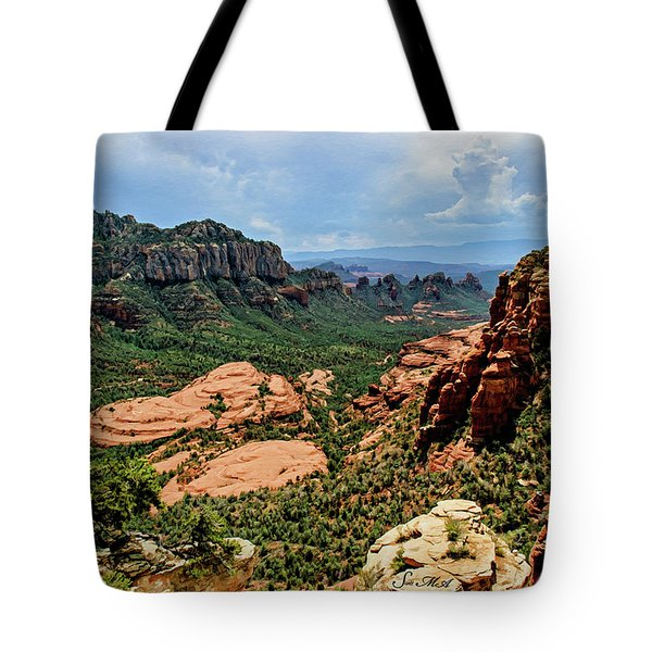 Flying Buttress 04-097 Tote Bag by Scott McAllister