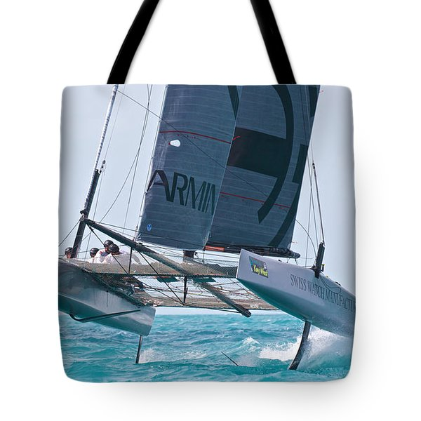 Flying Cat Tote Bag
