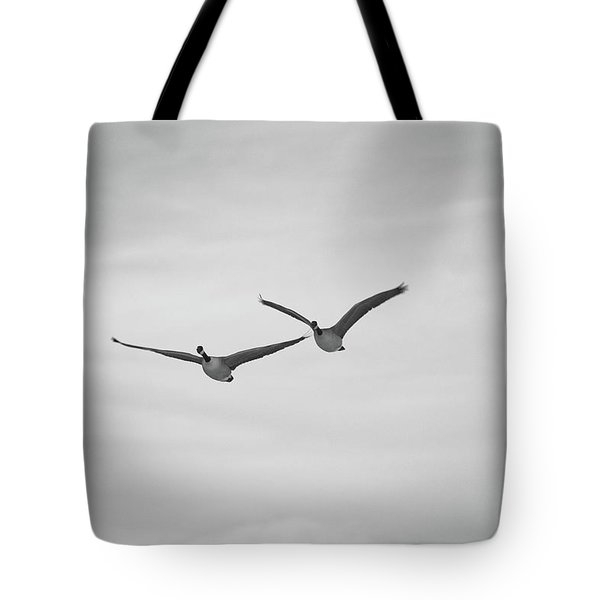 Flying Companions Tote Bag by Jason Coward