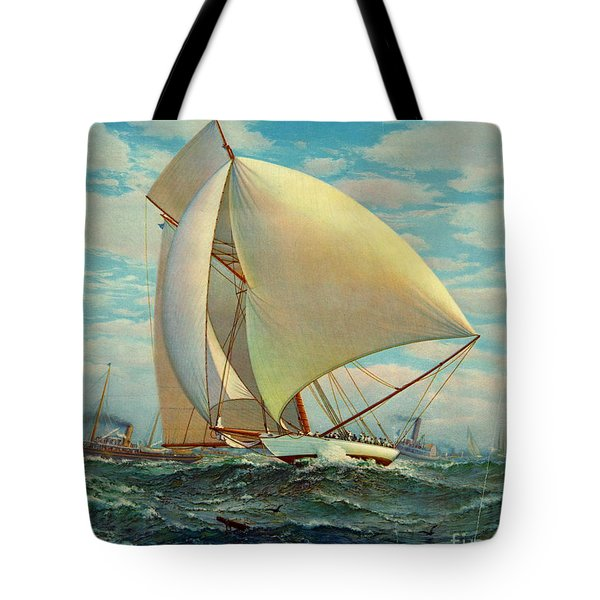 Tote Bag featuring the photograph Flying Defender 1895 by Padre Art