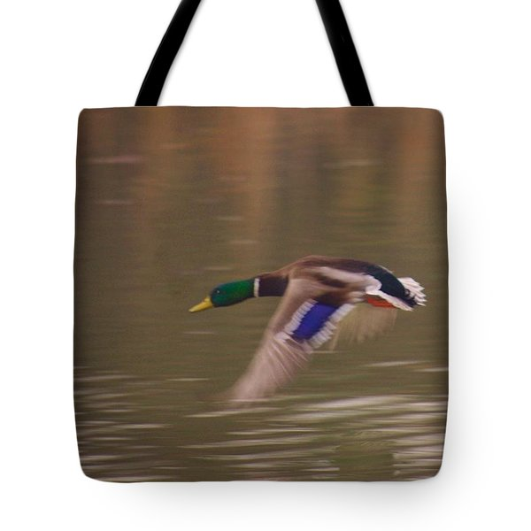 Flying Duck Tote Bag