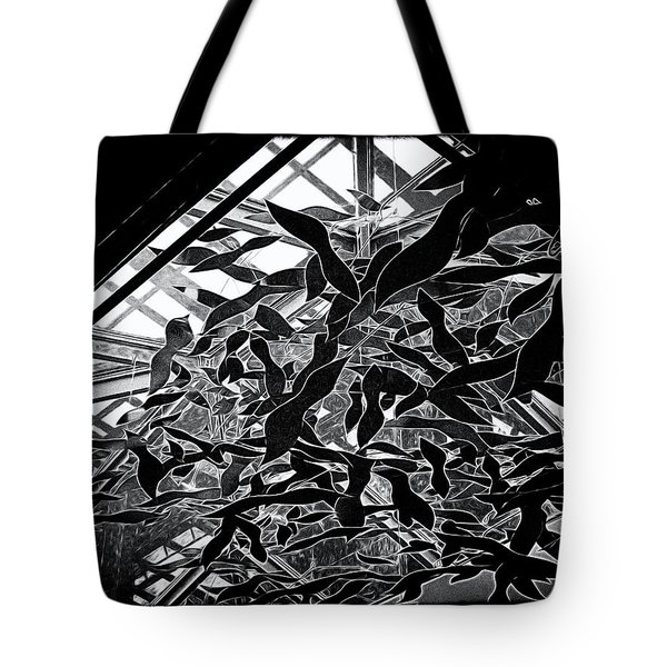 Flying Fish Tote Bag by William Horden