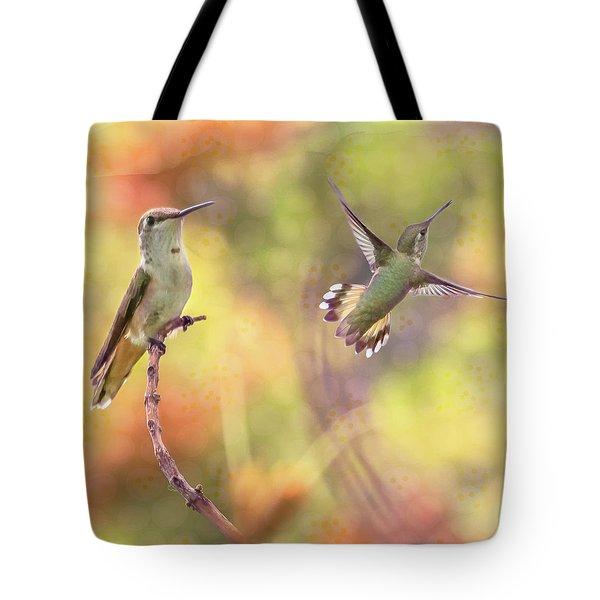 Flying Gems Tote Bag