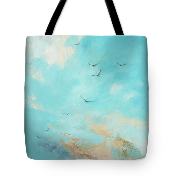 Tote Bag featuring the painting Flying High by Dina Dargo