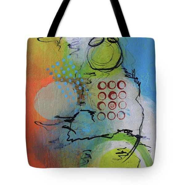 Flying In The Clouds Tote Bag