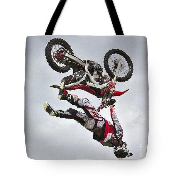 Flying Inverted Tote Bag