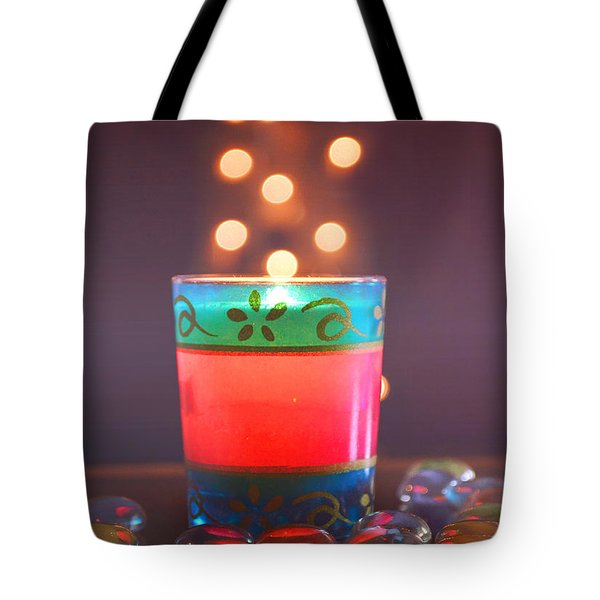 Flying Light Tote Bag by Rima Biswas