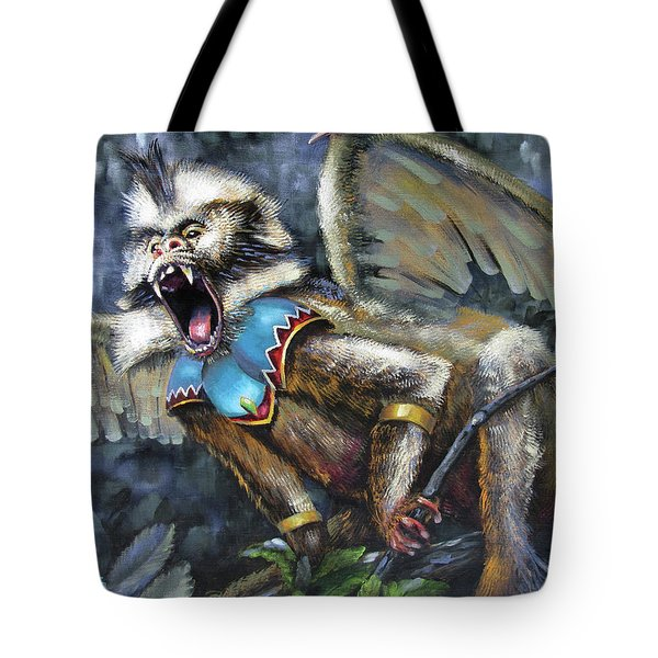 Flying Monkey Tote Bag