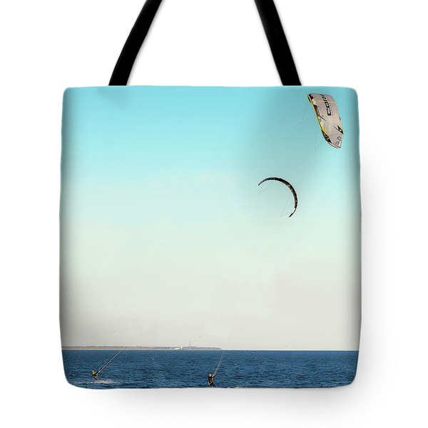 Flying On A Breeze Tote Bag