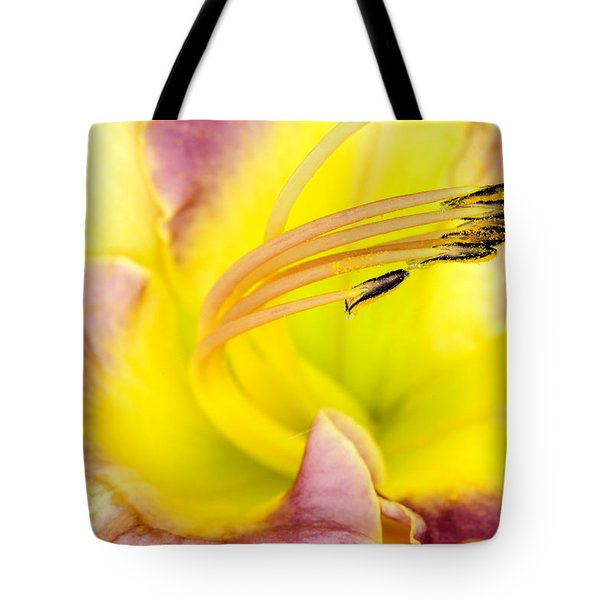 Flying Petals Tote Bag