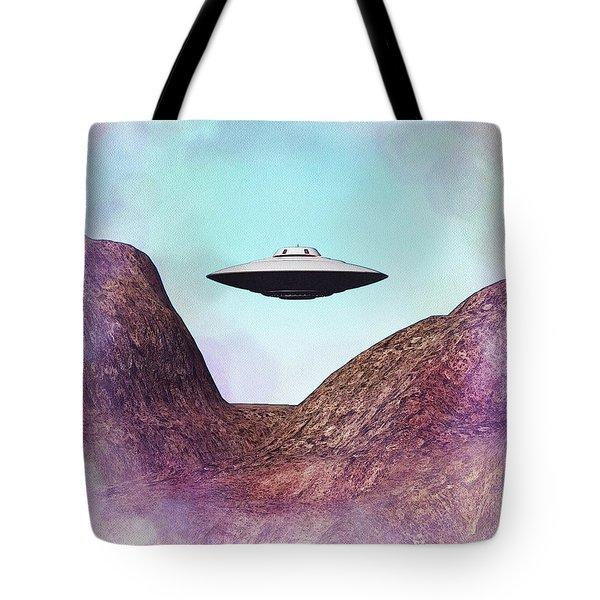 Flying Saucer - Ufo Tote Bag