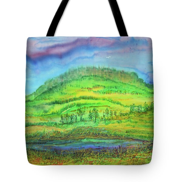 Flying Solo Tote Bag by Susan D Moody