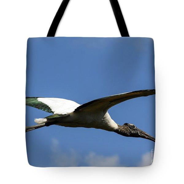 Flying Stork-no Baby Tote Bag