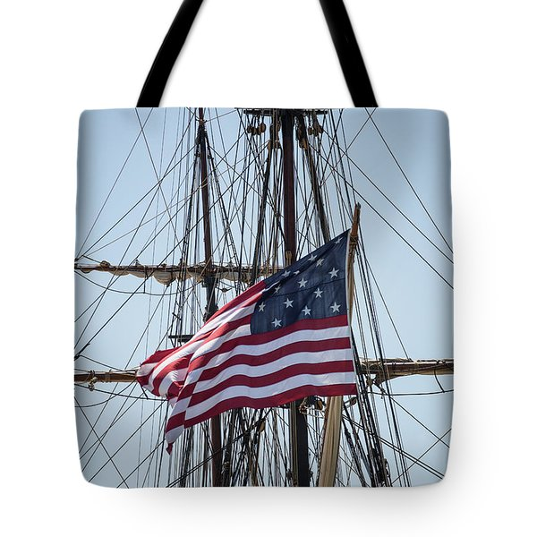 Tote Bag featuring the photograph Flying The Flags by Dale Kincaid