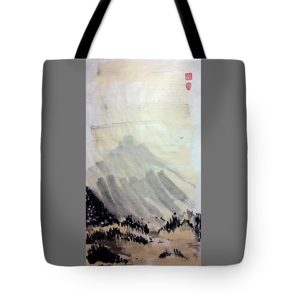 Flying Through The Open Sky Tote Bag