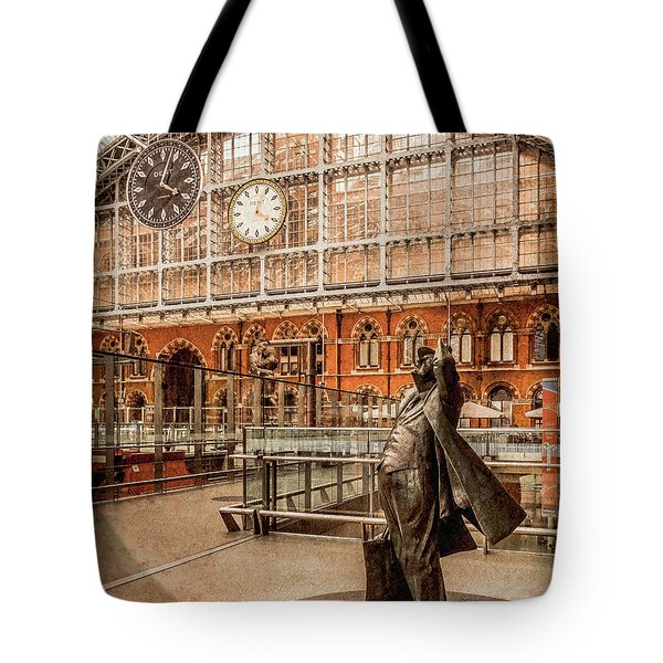 London, England - Flying Time Tote Bag