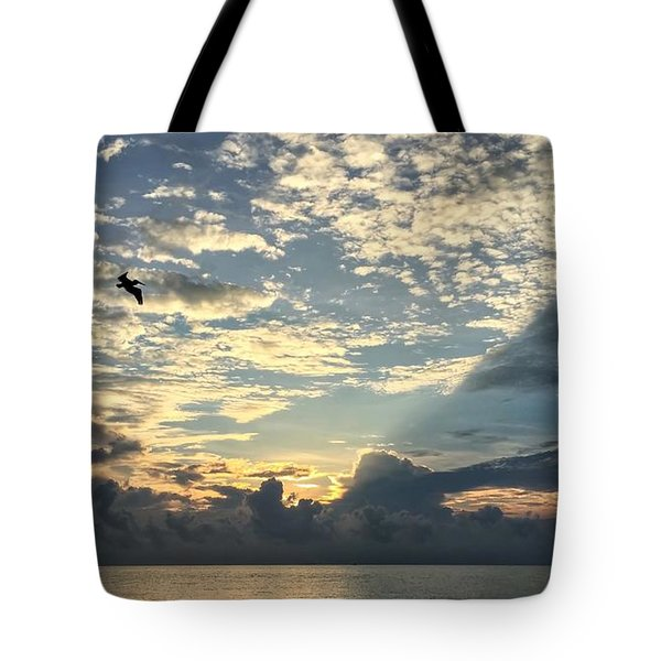 Flying To The Left Tote Bag