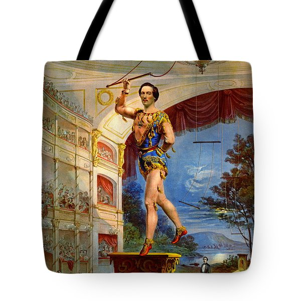 Tote Bag featuring the photograph Flying Trapeze 1850 by Padre Art