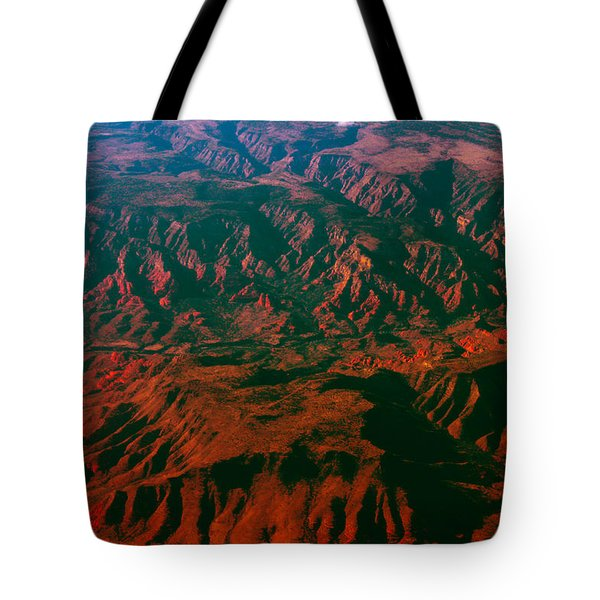 Flying West Tote Bag