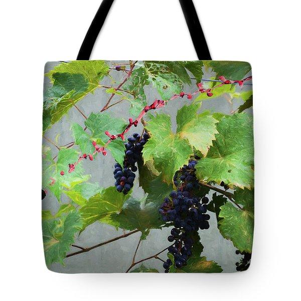 Flying Wine Tote Bag
