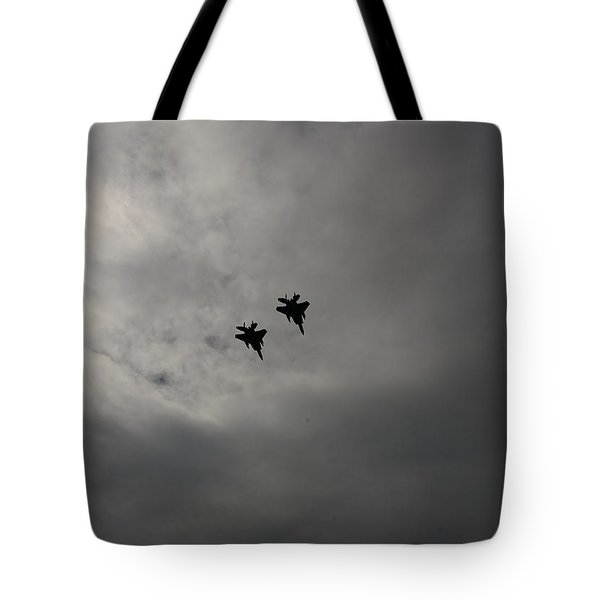 Tote Bag featuring the photograph Flyover by Jesse Ciazza