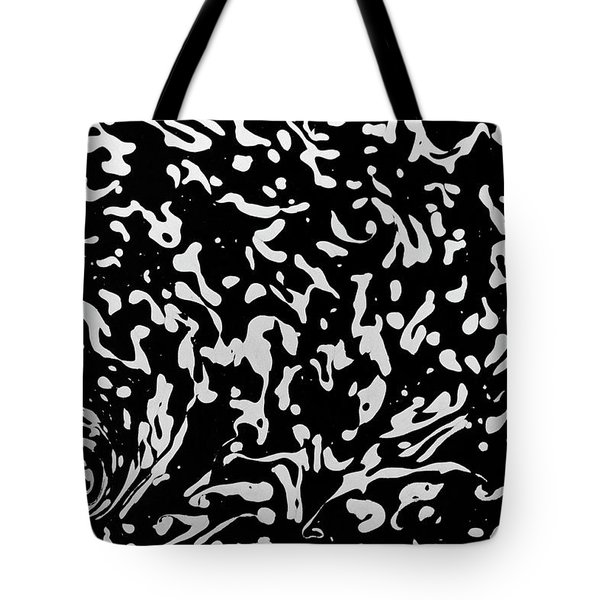Tote Bag featuring the photograph Foam by Rico Besserdich
