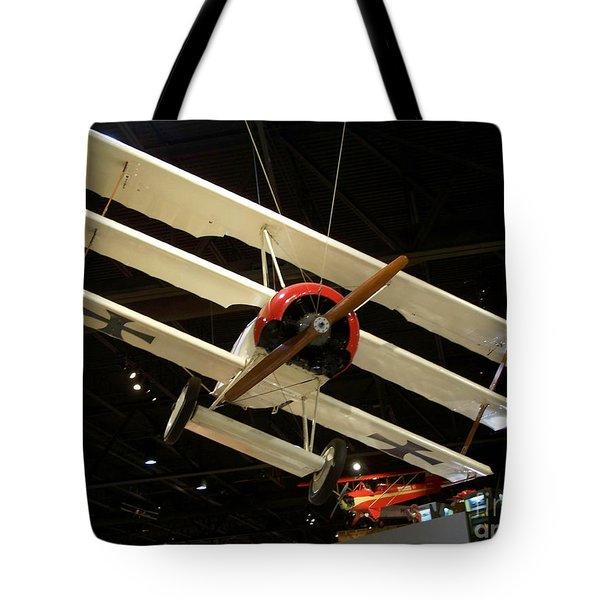 Focker Tri-plane Tote Bag by Tommy Anderson