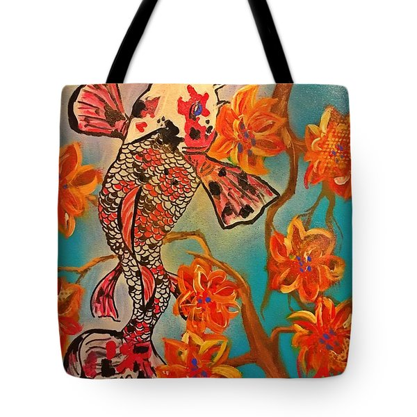 Focus Flower  Tote Bag by Miriam Moran