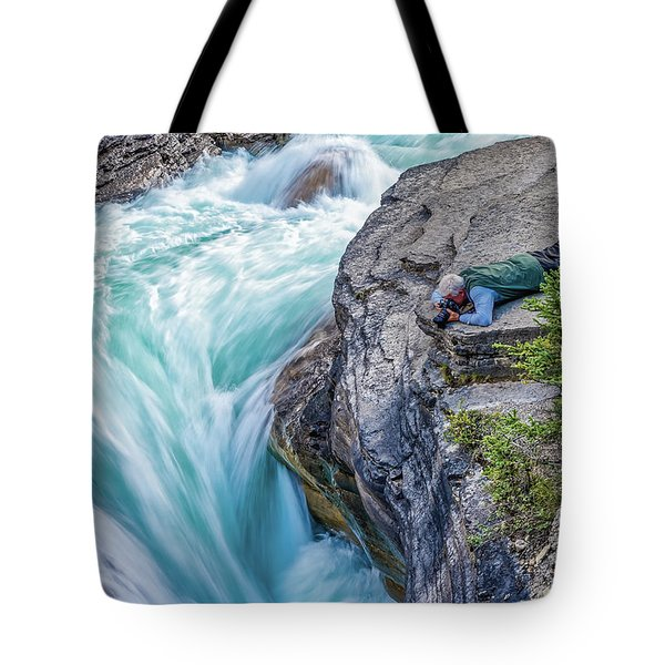 Tote Bag featuring the photograph Focused by Ronald Santini