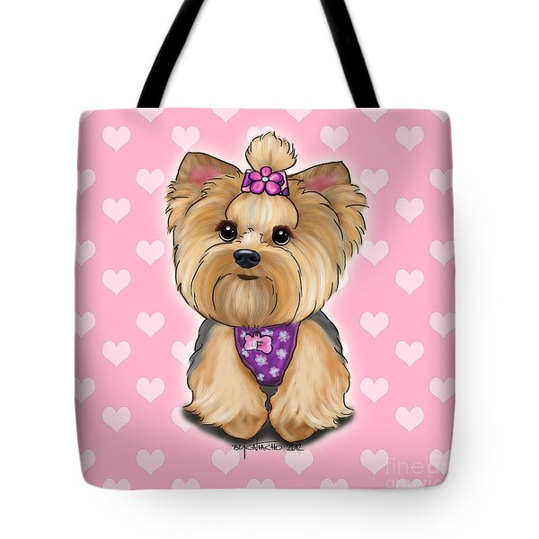 Fofa Hearts Tote Bag by Catia Cho