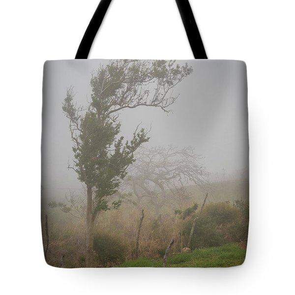 Fog And Wind Tote Bag