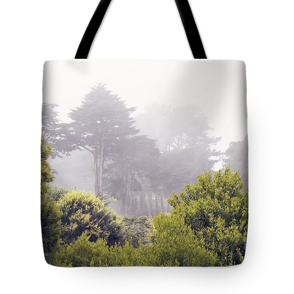 Tote Bag featuring the photograph Fog At Lands End by Cindy Garber Iverson