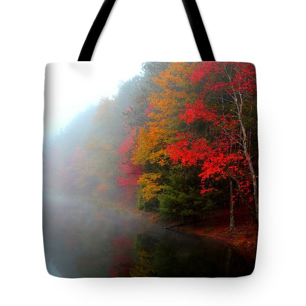 Clearing Fog Tote Bag