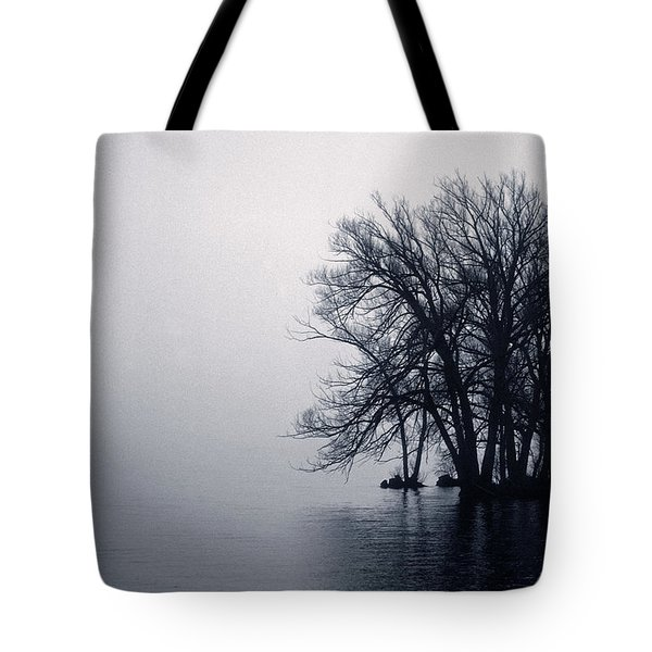 Fog Day Afternoon Tote Bag