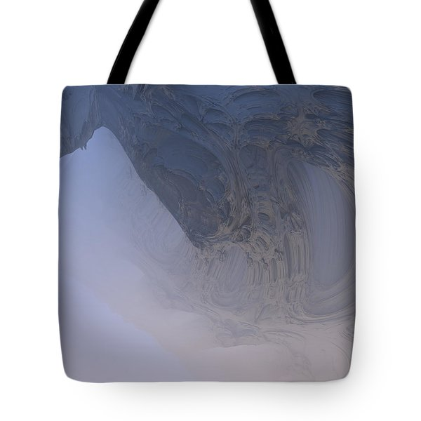 Fog In The Cave Tote Bag