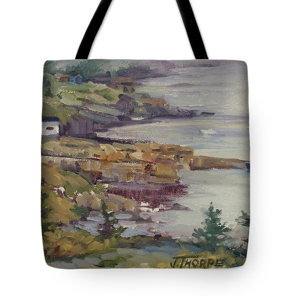Fog Lifting Tote Bag