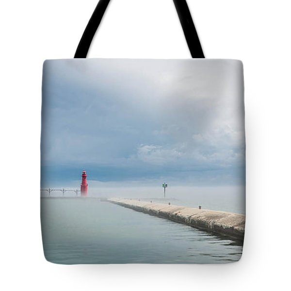 Fog Lifts Tote Bag