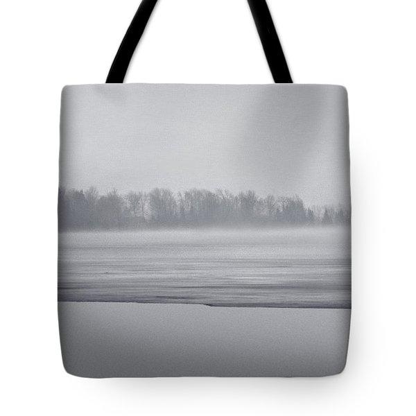 Fog Light Tote Bag
