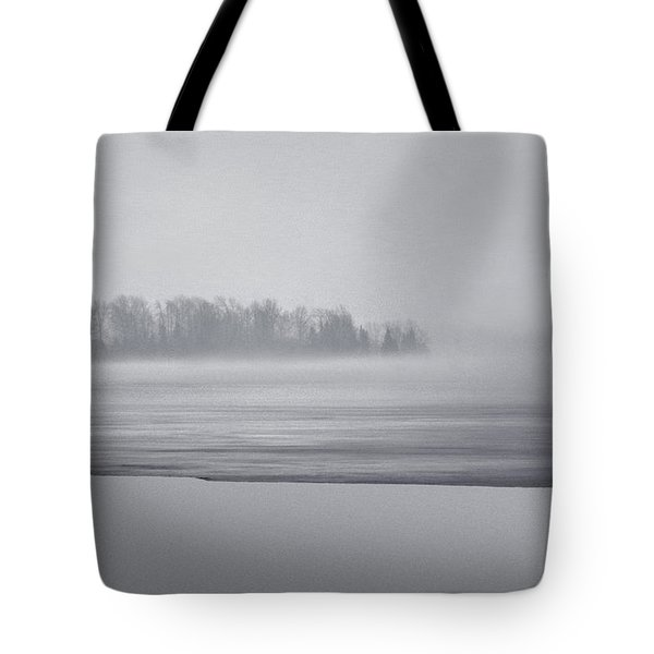 Fog Light Tote Bag