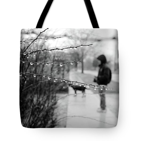 Fog Rain Tote Bag by Jeanette O'Toole