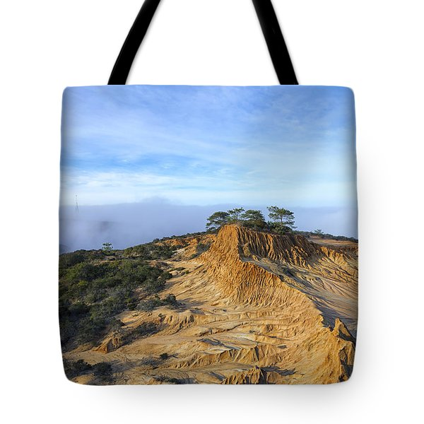 Fog Rolling In Tote Bag by Joseph S Giacalone