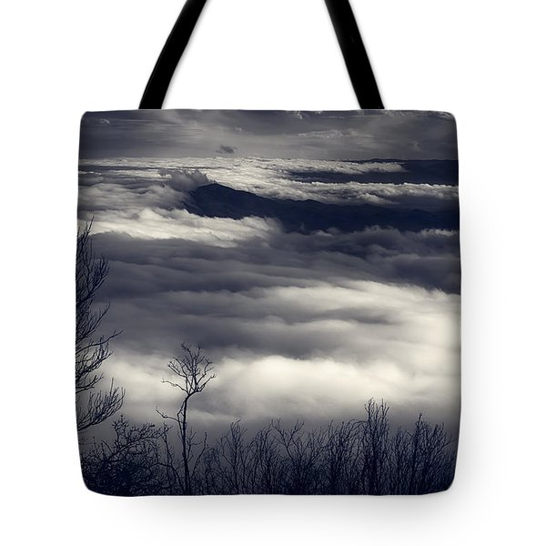 Fog Wave Tote Bag