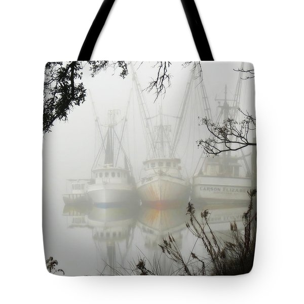 Fogged In Tote Bag
