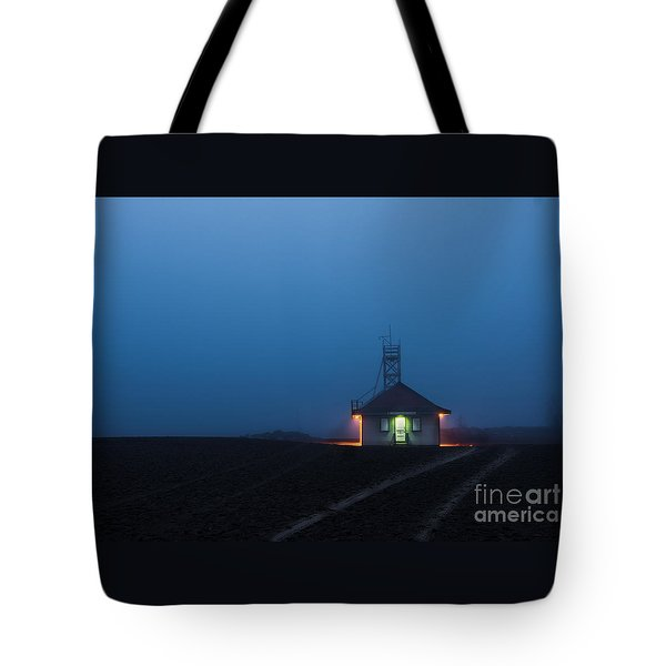 Foggy Dawn At Kew Beach Tote Bag