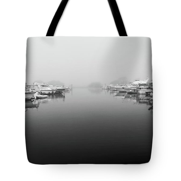 Foggy Day Banagher Tote Bag