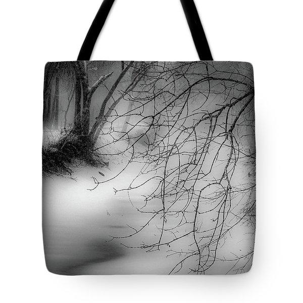 Foggy Feeder Tote Bag