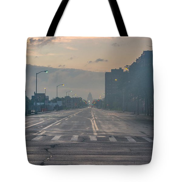 Foggy Fisher Color Tote Bag