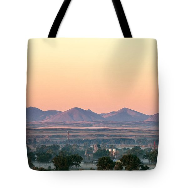 Foggy Harlem Bottom Tote Bag